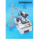 Ferro da stiro con caldaia SPIDIVAP Modello 20 Superinox