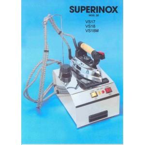 Caldaia SPIDIVAP Modello 20 Superinox con ferro da stiro