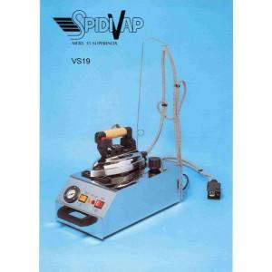 Caldaia SPIDIVAP Modello 35 Superinox con ferro da stiro