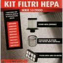 Kit filtri HEPA Necchi serie NH9000