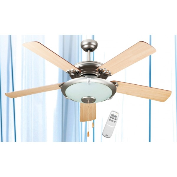 Ventilatore da soffitto dcg ve crd50tl 5 pale con telecomando - Ventilatore da soffitto design ...