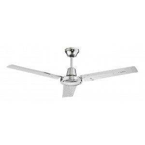 Ventilatore da soffitto CFG EV026 3 pale CROMO 120