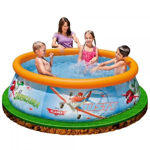 Piscina gonfiabile per bambini intex 28102 easy planes - Intex piscina gonfiabile ...