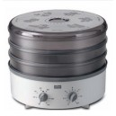 Essicatore in acciaio inox STOCKLI con regolatore di temperatura e timer