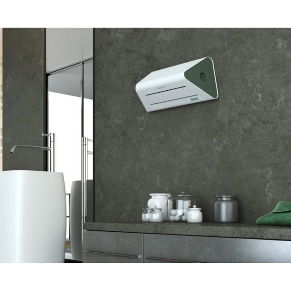 Aerazione forzata termoventilatore parete - Termoventilatore per bagno ...