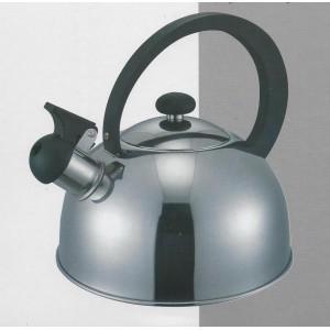 Bollitore 2,5 litri acciaio inox con fischietto