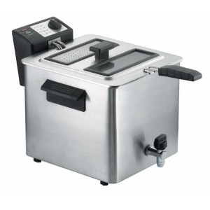 Friggitrice professionale 8 litri RGV Fry Type 8/N con rubinetto