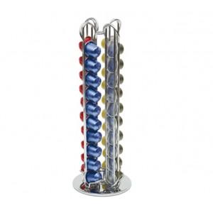 Portacapsule in acciaio Nespresso 40 posizioni dispenser Macom 832
