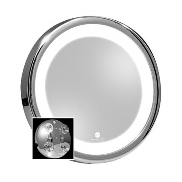 Specchio da trucco con lente d 39 ingrandimento macom 211 - Specchio ingrandimento ...