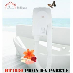 Asciugacapelli da parete DCG HT1030