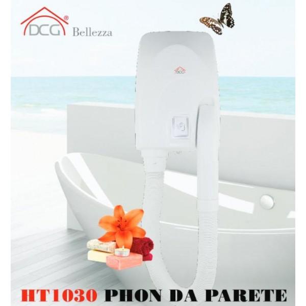 Asciugacapelli da parete dcg ht1030 for Asciugacapelli a parete per piscine
