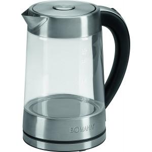 Bollitore elettrico 1,7 litri in vetro Bomann WK5023