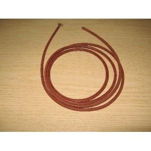 Cinghia di cuoio 5 mm Ø - 1,90 mt