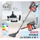 Aspirapolvere 2 in 1 DCG BS3070