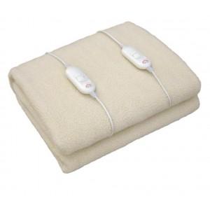 Coperta riscaldata matrimoniale in lana sintetica DCG SE3154