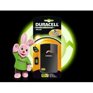Caricabatterie portatile usb Duracell 5 ore 1800 mah