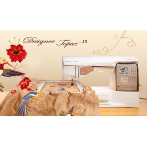 Macchina per cucire e ricamare Husqvarna Designer Topaz 30