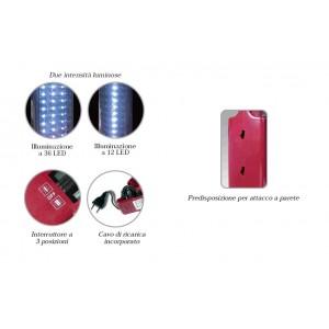 Lampada d'emergenza STELLA 36 E001 ricaricabile CFG Lucequadra