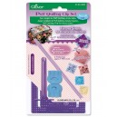 Set completo per puff quilting 4mm small CLOVER