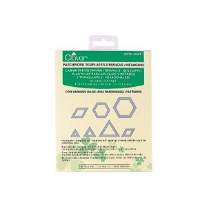 Sagome triangolari ed esagonali CLOVER 494/T