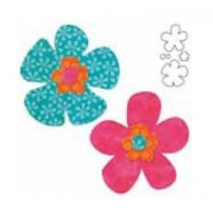 Sagoma fiori per Accuquilt