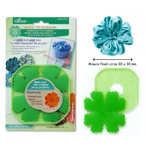 Yoyo Clover Shamrock small 30 x 30 mm 8712